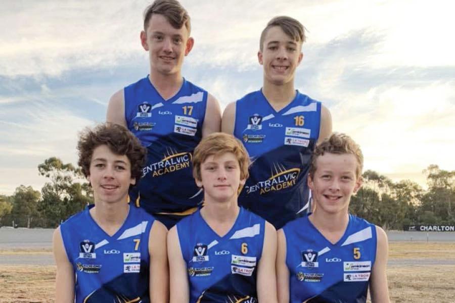 Charlton Footy juniors