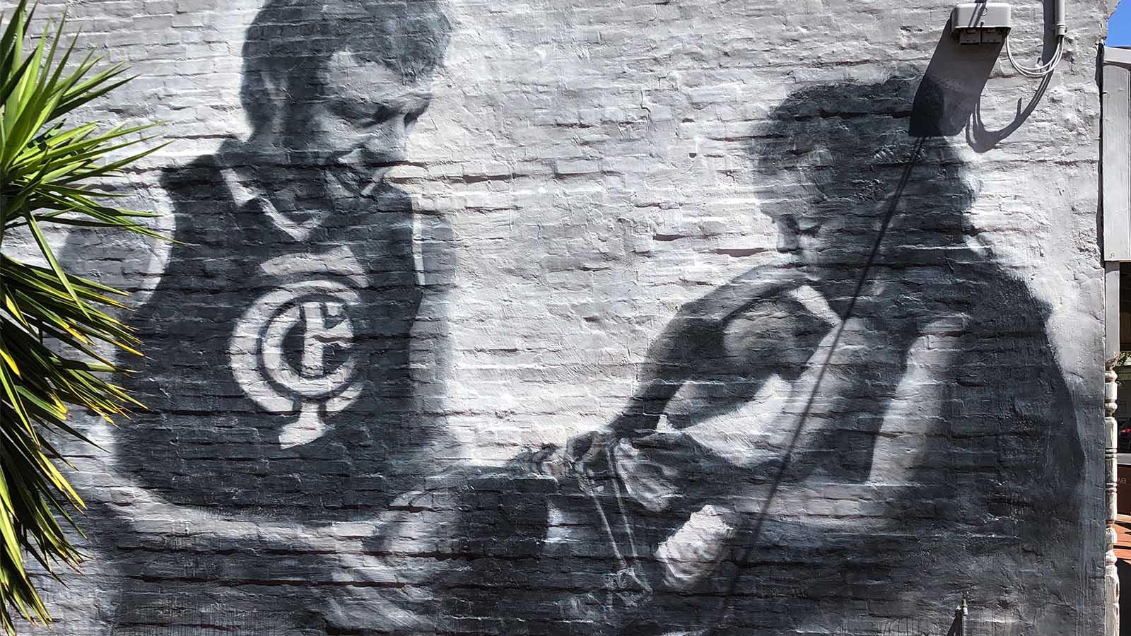 Three Walls Street Art